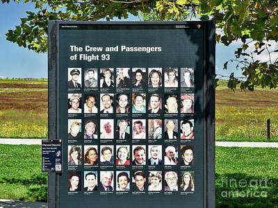 Photograph - The Hereos Of Flight 93 by John Waclo
