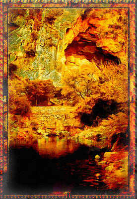 Manipulation Photograph - The Hidden Cave by Mario Carini