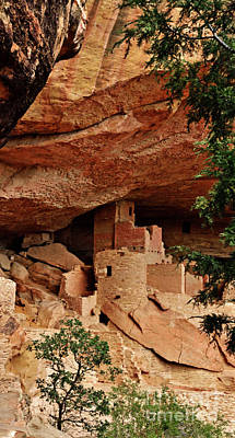 Pueblo Architecture Photograph - The Hidden House by Jim Chamberlain