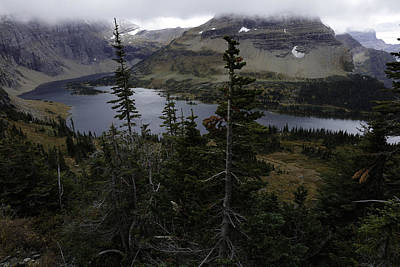 The Hidden Lake Photograph By Michael J Samuels