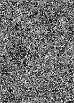 The Hidden Tapestry Print by Carey Davis