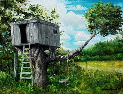 Painting - The Hideaway by Shana Rowe Jackson