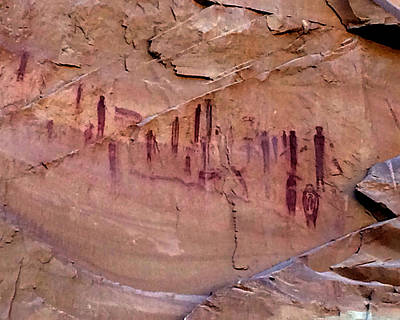 The High Gallery Horseshoe Canyon Original by Ron Brown Photography