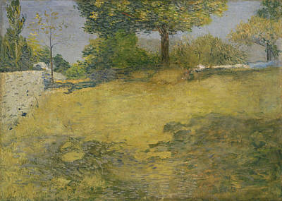 Painting - The High Pasture by Julian Alden Weir