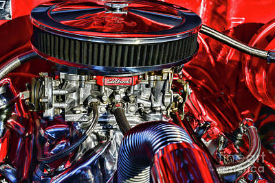 Photograph - The High Performance Engine by Paul Ward