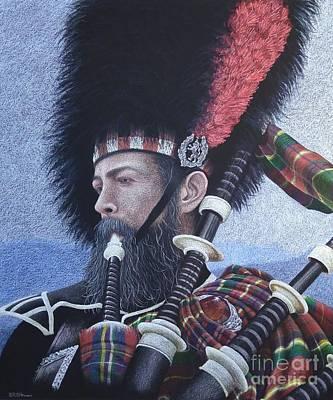 The Highlander Art Print