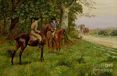 The Highwaymen Art Print