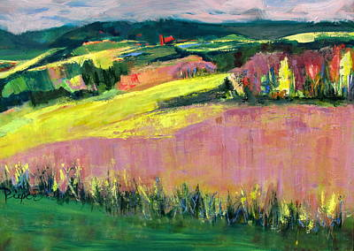 Painting - The Hills Are Alive by Betty Pieper