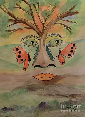 Painting - The Hills Have Eyes by Maria Urso