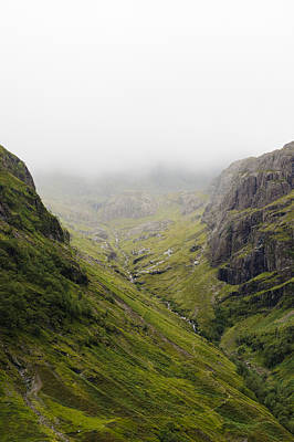 The Hills Of Glencoe Art Print by Christi Kraft