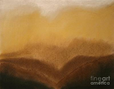 Painting - The Hills by Terry  Hester