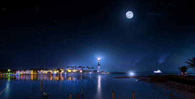 Photograph - The Hillsboro Inlet Lighthouse by Mark Andrew Thomas