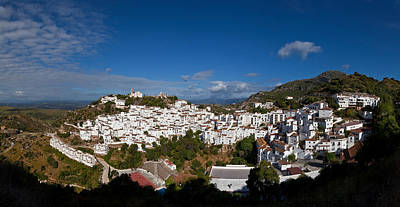 Casares Photograph - The Hilltop Village Of Casares, Malaga by Panoramic Images