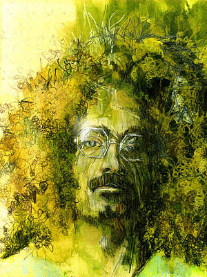 Painting - The Hippie by Paul Sachtleben