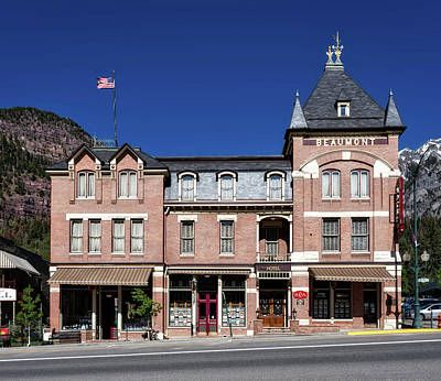 Beaumont Photograph - The Historic Beaumont Hotel by Mountain Dreams