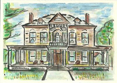 Painting - The Historic Dayton House by Matt Gaudian
