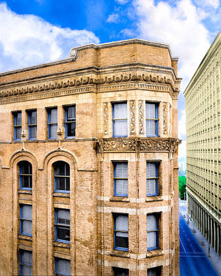 Photograph - The Historic Equitable Building - Old Atlanta by Mark E Tisdale