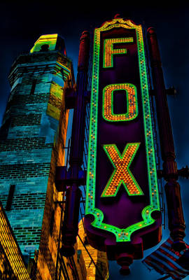 Photograph - The Historic Fox Theatre by Kelly Rader