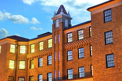 Photograph - The Historic Lane Hotel - Rogers Arkansas Usa by Gregory Ballos