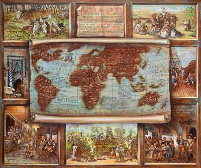 The History Of Coffee Original by Vali Irina Ciobanu
