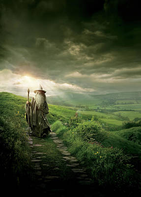 The Hobbit Wall Art - Digital Art - The Hobbit An Unexpected Journey 2012  by Geek N Rock