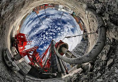 Planets Photograph - The Hole by Francois Casanova