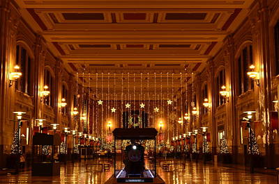 Music Figurative Potraits -  #03 Holidays at Union Station Kansas City by John Diebolt