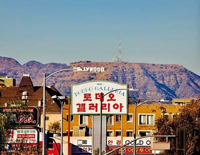 Photograph - The Hollywood Mountain by Lorna Maza
