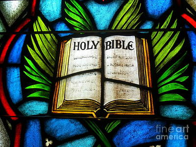 Photograph - The Holy Bible by Ed Weidman