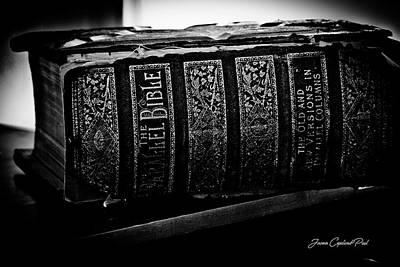 Photograph - The Holy Bible by Joann Copeland-Paul