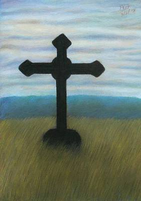 Pastel - The Holy Cross by Vishvesh Tadsare