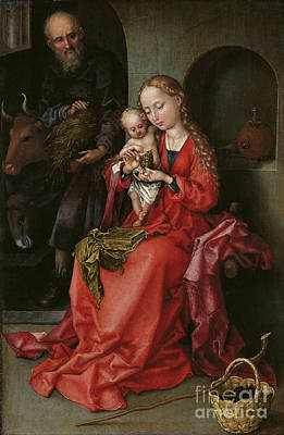 Painting - The Holy Family by Celestial Images