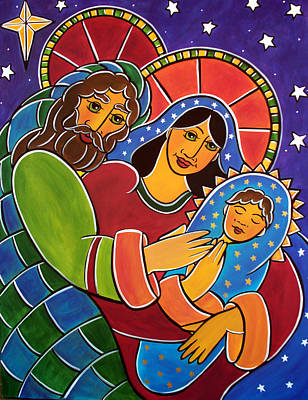 Painting - The Holy Family by Jan Oliver-Schultz