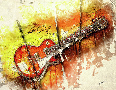 Van Halen Digital Art - The Holy Grail V2 by Gary Bodnar