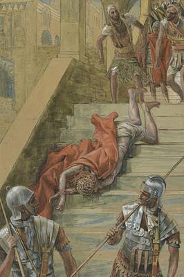 Agony Painting - The Holy Stair by Tissot