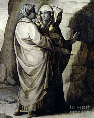 Sepulchre Painting - The Holy Women At The Tomb by Ridolfo Ghirlandaio
