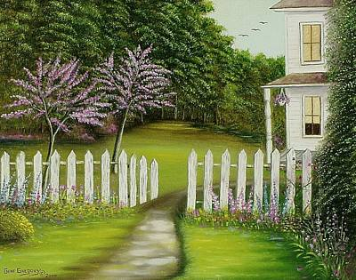 Painting - The Home Place by Gene Gregory