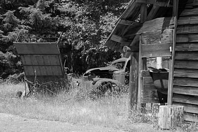 Photograph - The Homestead Scene by Richard J Cassato