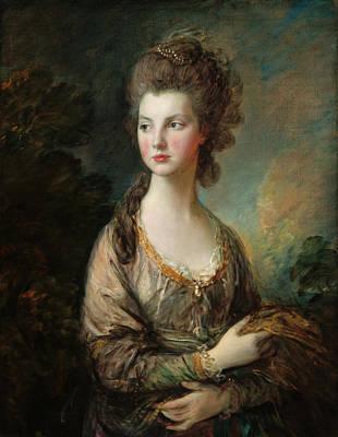 Painting - The Hon. Mrs. Thomas Graham by Thomas Gainsborough