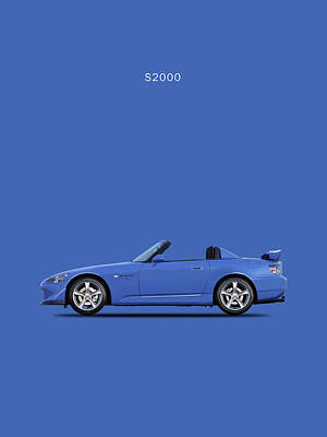 The Honda S2000 Art Print by Mark Rogan