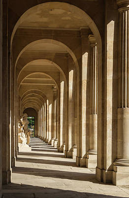 Photograph - The Honor Courtyard Of The Ecole Militaire  by Jebulon