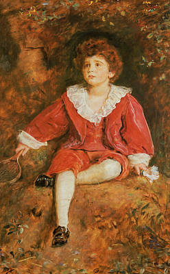 Victorian Era Painting - The Honorable John Neville Manners by John Everett Millais