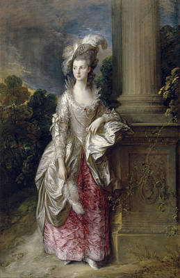Outdoor Still Life Painting - The Honourable Mrs Graham by Thomas Gainsborough