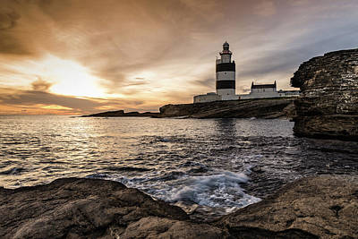 Photograph - The Hook At Sunset by Martina Fagan