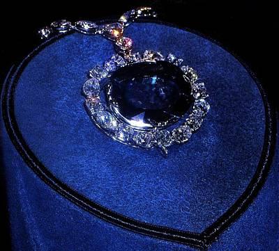 Photograph - The Hope Diamond by Danielle R T Haney