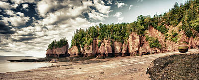 Photograph - The Hopewell Rocks by Levin Rodriguez
