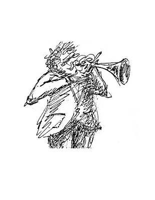 The Hornblower Art Print by Sam Chinkes