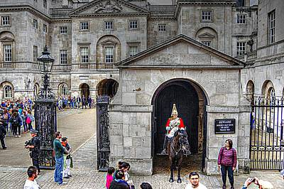 The Horse Guard At Whitehall Art Print