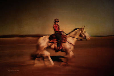 Photograph - The Horse Rider by Aleksander Rotner