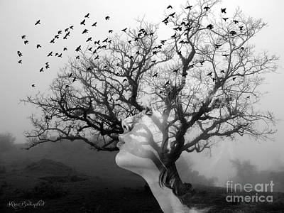 Photograph - The Hostess Tree by Kira Bodensted